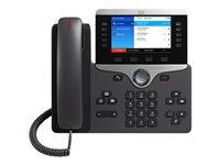 PRODOTTO USATO ALTISSIMA QUALITA'!!! CP-8851-K9-RF - Cisco IP Phone 8851 - VoIP phone - SIP, RTCP, RTP, SRTP, SDP - 5 lines - charcoal - refurbished