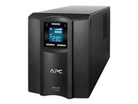 PRODOTTO RIGENERATO!!! SMC1000I - APC Smart-UPS C 1000VA LCD - UPS - AC 230 V - 600 Watt - 1000 VA - USB - output connectors: 8 - black