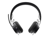 981-000798 - Logitech Zone Wireless Bluetooth - Headset - on-ear - Bluetooth - wireless - active noise cancelling