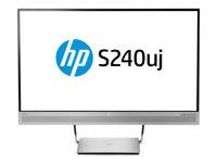 PRODOTTO USATO OTTIMA QUALITA'!!! T7B66AT#ABB - HP EliteDisplay S240uj Wireless Charging Monitor - LED monitor - 23.8'