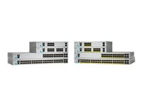 WS-C2960L-SM-24PQ - Cisco Catalyst 2960L-SM-24PQ - Switch - smart - 24 x 10/100/1000 (PoE+) + 4 x Gigabit SFP (uplink) - desktop, rack-mountable - PoE+ (195 W)