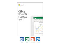 T5D-03218 - Microsoft Office Home and Business 2019 - Box pack - 1 PC/Mac - medialess - Win, Mac - French - Eurozone