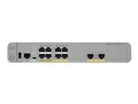 WS-C3560CX-8PT-S - Cisco Catalyst 3560CX-8PT-S - Switch - Managed - 10 x 10/100/1000 (PoE+) - desktop, rack-mountable, DIN rail mountable, wall-mountable - PoE+ (146 W)